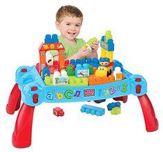 Mega Bloks Play 'n Go Table (Colors May Vary) Mega Bloks http://www.amazon.com/dp/B001RNII58/ref=cm_sw_r_pi_dp_elXuvb1GPEYSQ