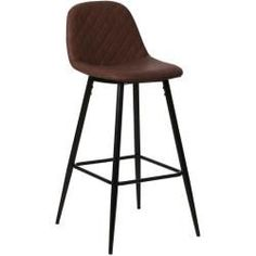 Bar stools & bar chairs- Bar stool with backrest imitation leather brown 75 cm – ElbaNimarahome.de Bar stool with backrest imitation leather brown 75 cm – ElbaNimarahome. Elba, Bar Chairs, Bar Stools, Garden Furniture, Home Furniture, Retro Furniture, Bar Table Sets, Mawa Design, Chaise Bar