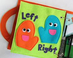 """Benutzerdefinierte ruhigen Buchseite """"Linke Hand, Rechte Hand"""" - Seite, Ihr Custom personalisierte Buch zu erweitern!"""