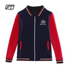 >> Click to Buy << Fitaylor 2017 Autumn New Fashion All-match Stand Collar Baseball Uniform Jacket Cartoon Pattern Striped Hit Color Zipper Jacket #Affiliate