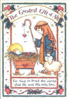 For God so loved the world.  Merry Christmas from Women for Jesus. www.womenforjesus.org