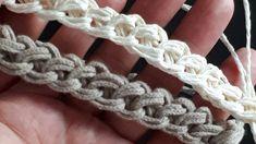 Baby Knitting Patterns, Knitting Stitches, Hand Knitting, Crochet Patterns, Knitting Videos, Crochet Videos, Crochet Cord, Crochet Lace, Crochet Handles