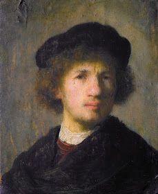 ART & ARTISTS: Rembrandt – part 3 Rembrandt Self Portrait, Rembrandt Drawings, Rembrandt Paintings, Portrait Images, Portraits, Caravaggio, Leiden, List Of Paintings, Paul Klee Art