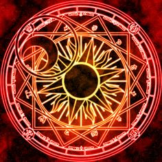 Clow Reed's Magic Circle by ~Earthstar01 on deviantART