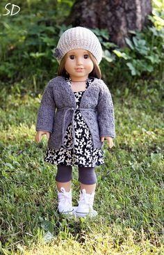 Colour Be Gone Outfit for American Girl by StassyDodge on Etsy