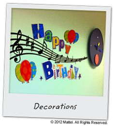 Music Birthday Party Theme - Plan, Ideas, Games & Activities