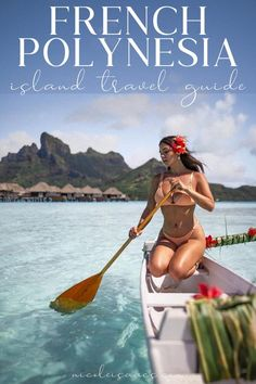 Get a complete guide to visiting French Polynesia including the best islands in French Polynesia: Tahiti, Bora Bora, and Moorea. #frenchpolynesia #tahiti #borabora #moorea | French Polynesia photography | French Polynesian islands Tahiti | French Polynesia travel | French Polynesia travel guide | French Polynesia travel dream vacations | French Polynesia travel Bora Bora | French Polynesia travel bucket lists | French Polynesia travel photography | Moorea French Polynesia photography