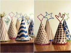 Salsa Pie Productions: bricolage de famille: chapeaux de fête