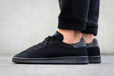 Adidas Stan Smith Triple Black Primeknit