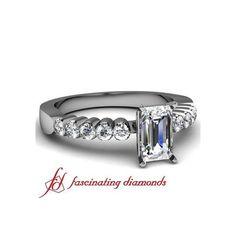 Bella Diamond Engagement Ring Pave Set ($367)