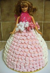 Torta s Marshmallow cukríkmi - Báječné recepty Creative Food, Marshmallow, Food Art, To My Daughter, Little Girls, Flower Girl Dresses, Cooking Recipes, Cupcakes, Disney Princess