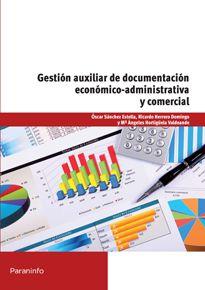 Portada del libro UF0519 - Gestión auxiliar de documentación económico administrativa y comercial