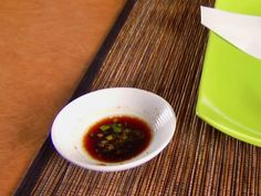 Soy Ginger Dipping Sauce recipe from Alton Brown via Food Network>> to go with dumplings instead of the sauce included in that recipe