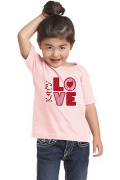 Personalized Applique Children's Tshirts by BoomerangPromotions