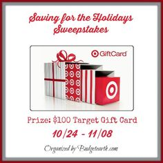 Welcome to the Saving for the Holidays Sweepstakes Organized by Budget Earth Co-hosted by Pretty in Pigment| Barbara's Beat | It's My Party | Simply Sherryl | Mirth and Motivation | Coupons and Freebies Mom | Your Sassy Self | Finger Click Saver |How Does Your Garden Grow? |Memoirs of a Clueless Woman | Priceless…