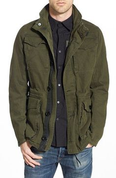 G-Star Raw Men's 'Falco' Field Military Army Jacket Forest Green Large NWT $220…