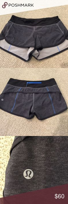 Lululemon speed shorts Like new. lululemon athletica Shorts