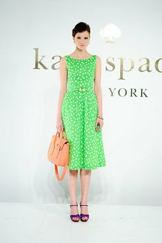 Yes!  Cheery prints with a 50s cut!  Kate Spade Spring 2012