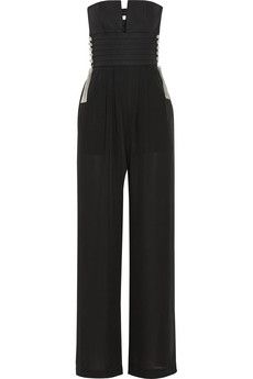 Sass & bide All About The Bass silk jumpsuit | NET-A-PORTER  ~ This is INSANELY FABULOUS