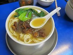 chinese restaurant food | ordered Beef La Mien/Noodles(La Mien is noodles in Chinese) PHP130