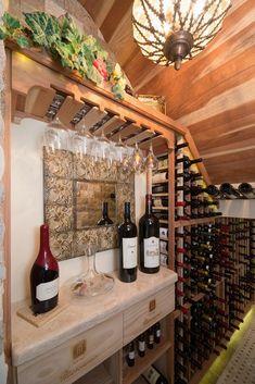 Under-Stair Wine Cellar Project in Phoenix, AZ