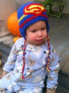 Superman Hat by JHCrafter on Etsy
