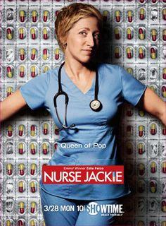 "nurse jackie (""ER"" with an edge) - love it!"