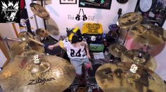 """Renegade"" by 9 year old drummer Alex Shumaker"
