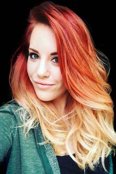 Fire ombre hair, red ombre, red to blonde . red ombre in 201 Fire Ombre Hair, Fire Hair, Brown Ombre Hair, Brown Hair With Highlights, Red Ombre, Red To Blonde Hair, Orange Ombre Hair, Blonde Highlights, Ombre Hair Color