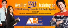 FREE training on Finishing Course for Call Center Agents! Leave your full and area of residence in the comments below!