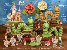 Page 189 Hadas en ceramica jardin. Clay Magic Inc