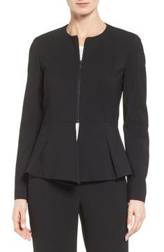 Classiques Entier® Fold Detail Peplum Jacket