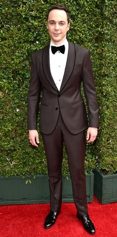 Emmy Awards 2014 Red Carpet Photos - Jim Parsons from #InStyle
