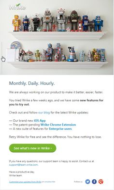 Check out what's new within Wrike