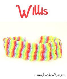 Willis Loom Band Bracelet Tutorial - Loomband