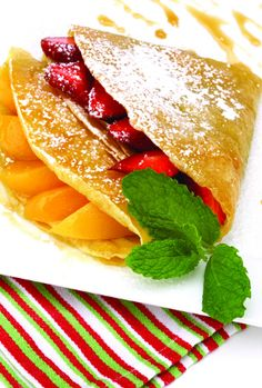 Fruit Crepe