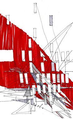 #architecture #sketch