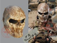 Back To Search Resultshome Efficient Hot Camouflage Hunting Accessories Masks Ghost Tactical Outdoor Military Cs Wargame Paintball Airsoft Skull Full Face Mask 43bp