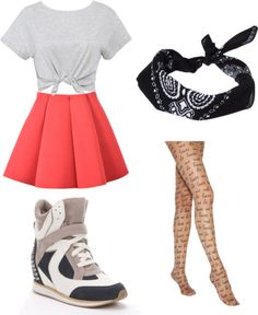 "Outfit inspired by: Wonder Girls in ""Like This"" MV"