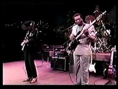 Stevie Ray Vaughan with W.C. Clark and Chris Layton - Jam, Austin City Limits