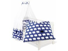 Roba Himmelset//Bettset Kinderbettgarnitur 4-teilig Sunny Day rot NEU