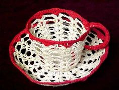 crochet teacup pattern - Google Search