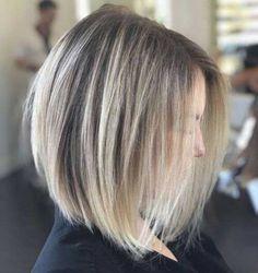 .Shoulder Length Bob Haircut for Fine Hair Bob Haircut For Fine Hair, Bob Hairstyles For Fine Hair, Haircuts For Fine Hair, Cool Hairstyles, Bob Haircuts, Hairstyle Ideas, Wedding Hairstyles, Easy Hairstyle, Casual Hairstyles