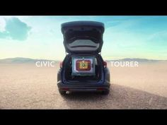 If It's Hip, It's Here: Nice New Honda Civic Tourer Spot from Wieden+Kennedy London Highlights The Inner Beauty. Commercial Advertisement, Car Advertising, Creative Advertising, Honda Civic, New Honda, Tv Adverts, Tv Ads, Digital Campaign, Ad Car