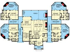 Plan 15880ge Couples Mountain Retreat Family House Plans Cabin Floor Plans Floor Plans