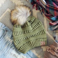 Mount Stewart Beanie in Sage, Sweet Winter Hats From Spool No. 72. | Spool No.72