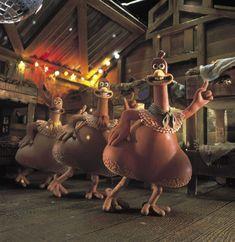 Chicken Run - 2000...my favorite movie when I was 3!(: