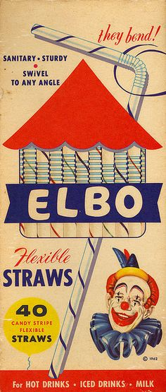I remember these straws!