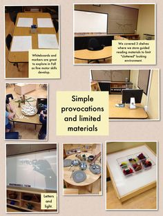 Passionately Curious: Learning in a Reggio Inspired Kindergarten Environment: FDK Learning Environment: What messages are you sending your children?