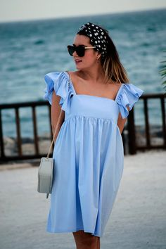 Simple Outfits, Simple Dresses, Nice Dresses, Casual Dresses, Casual Outfits, Ladies Day Dresses, Girls Formal Dresses, Summer Dresses, Curvy Fashion